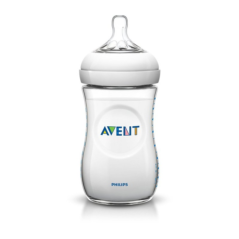 AVENT Láhev Natural PP 260ml Transparentní