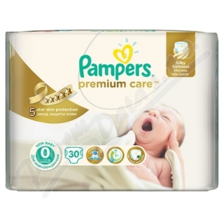 PAMPERS Premium Care Newborn 0_1-2,5 kg 30 ks